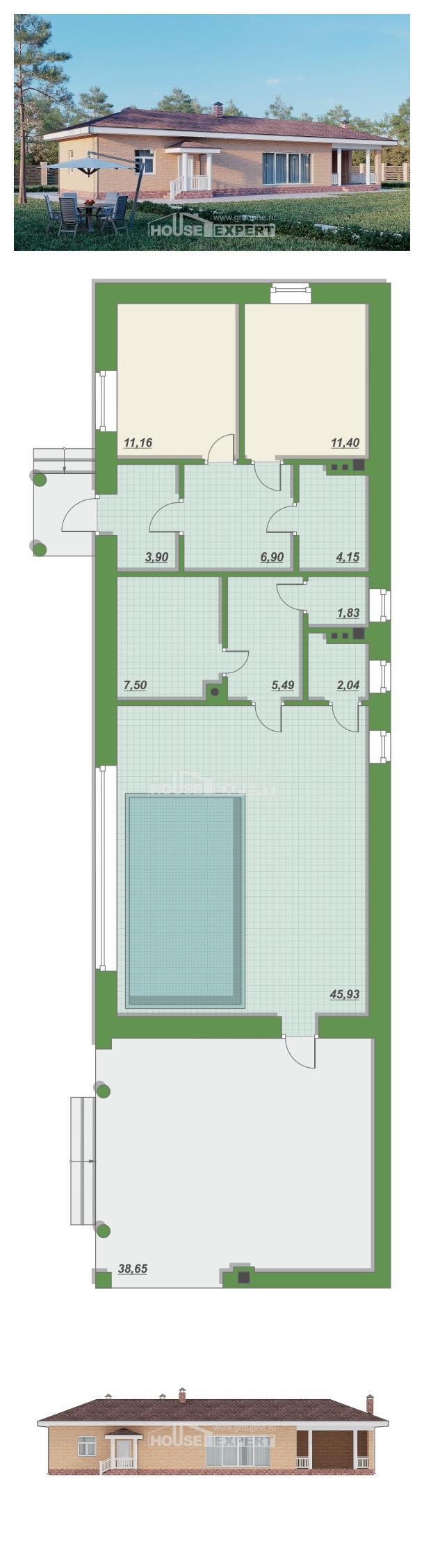 Проект дома 110-006-П   House Expert