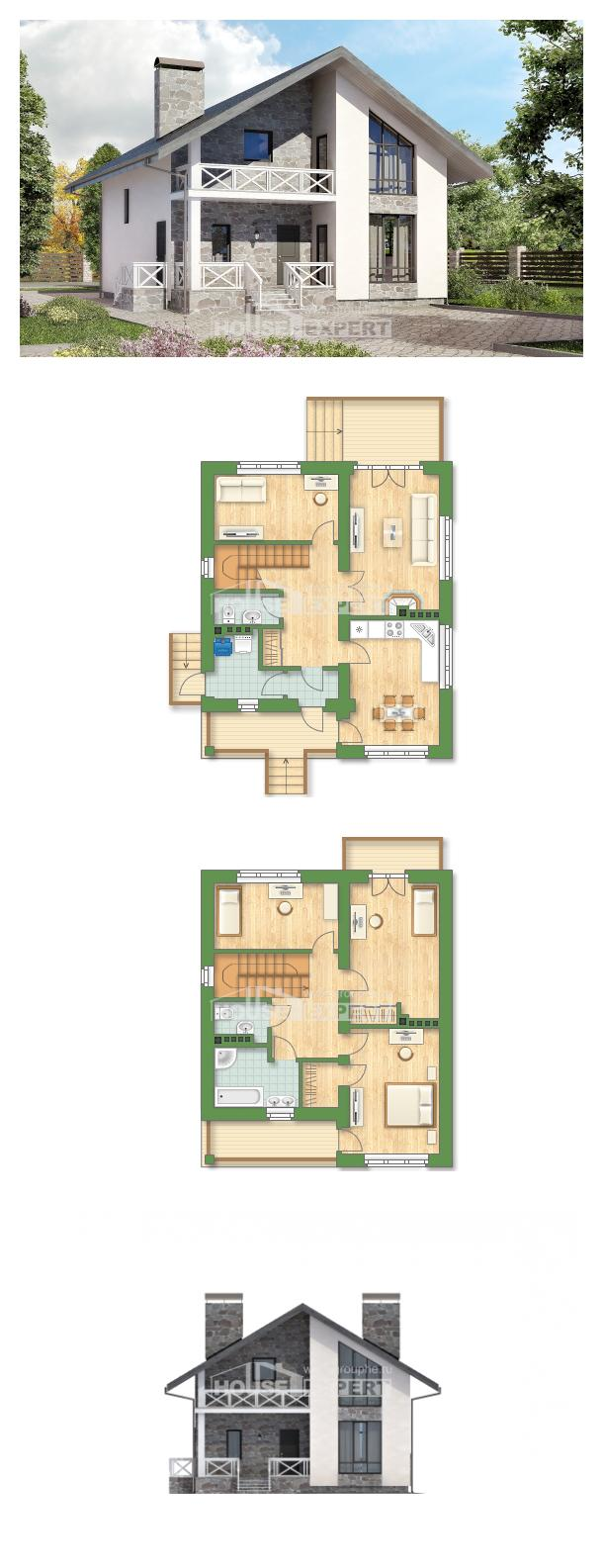 Проект дома 155-001-Л   House Expert